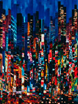 026 - Night colors show - 2001 - 85 x 60 cm.jpg